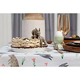 """Скатерть """"Доляна"""" Fluffy bunnies 220х144 см, 100% хлопок, 164 г/м2, фото 5"""