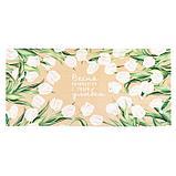"""Дорожка """"Этель"""" Белые тюльпаны 30*70 см, 100% хлопок, саржа 190 г/м2, фото 4"""