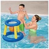 Набор для игр на воде «Баскетбол», d=61 см, корзина, мяч, от 3 лет, 52190 Bestway, фото 2