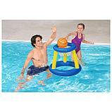 Набор для игр на воде «Баскетбол», d=61 см, корзина, мяч, от 3 лет, 52190 Bestway, фото 3