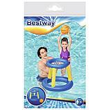 Набор для игр на воде «Баскетбол», d=61 см, корзина, мяч, от 3 лет, 52190 Bestway, фото 4