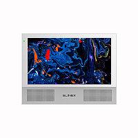 """Slinex Sonik-10 цвет белый. 10"""" AHD Домофон с сенсорным экраном, динамиками и сменными панелями"""