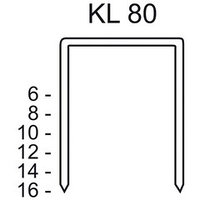 СКОБЫ ТИП KL 80/12 CNK/3000