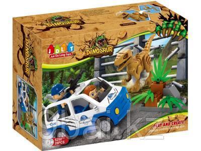 Конструктор Jun Da Long Toys Охота на динозавра HWА1127240