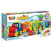 Конструктор Jun Da Long Toys Поезд с цифрами