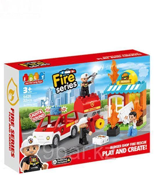 Конструктор Pituso Пожарная машина HW19136846