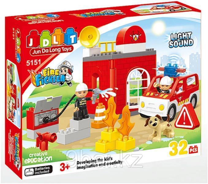 Конструктор Pituso Пожарная станция HWА641961