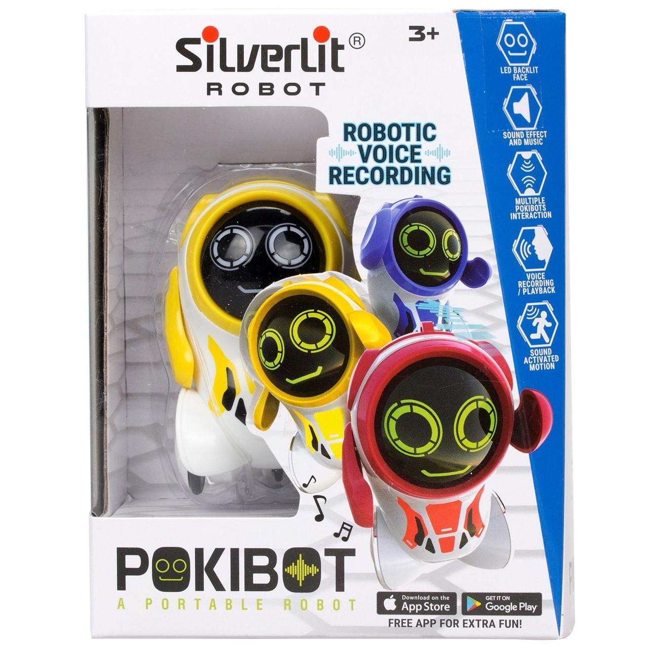 Silverlit Робот Покибот (Pokibot) - желтый