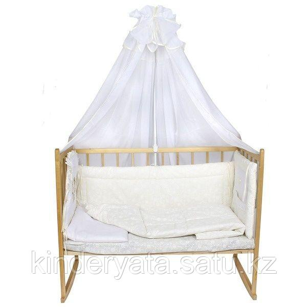 Балу: Комплект в кроватку Ежик Васютка Кремовый 7 пр.