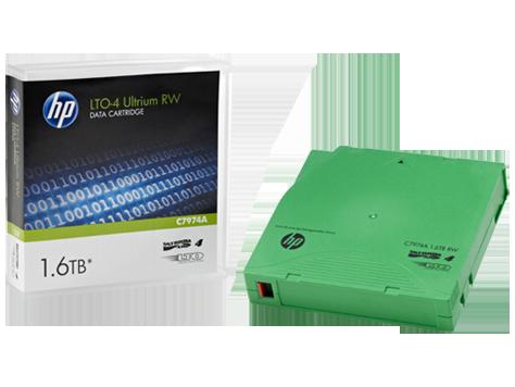 HP C7974A Картридж для хранения данных LTO4 Ultrium 1.6TB RW