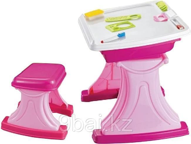 Набор игрушек Xiong Cheng Столик для творчества 628-23 Pink