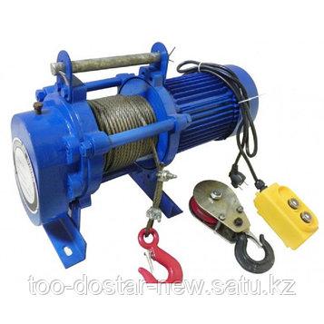 Лебедки электрические KCD 750-1500 кг 60м  380В