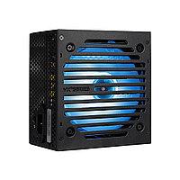 Блок питания, Aerocool, VX PLUS 600 RGB, 600W, ATX, None-PFC, 20+4pin, 4+4pin, 4*Sata, 3*Molex, 1*FDD, 2*PCI-E