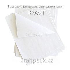 Оберточная бумага для фаст фуда, подложка для пиццы БЕЛАЯ, с парафином 300*300 (1000шт/уп)