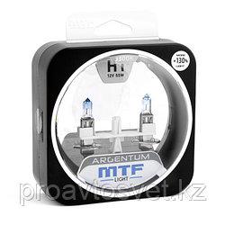 Галогенные автолампы MTF Light серия ARGENTUM +130% H1