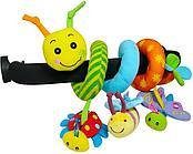 Развивающая игрушка Biba Toys GD074 Спираль Гусеница и друзья