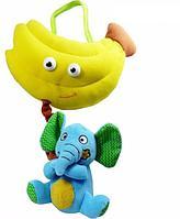 BIBA TOYS Развивающая игрушка СЛОН и БАНАН