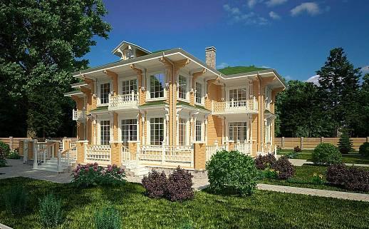 Проект дома №3343