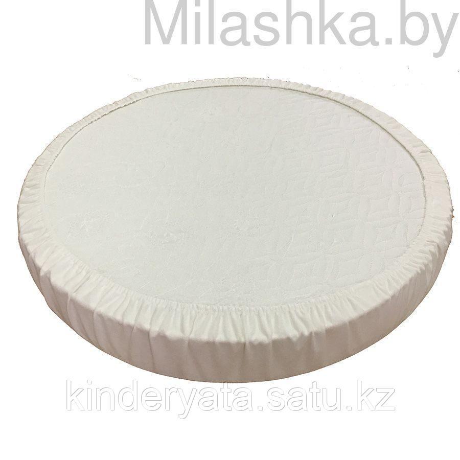 BAMBOLA Наматрасник непромакаемый на резинке круглый Махра 65-75см