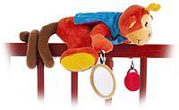 Мягкая игрушка Biba Toys Обезьянка-спираль, фото 1