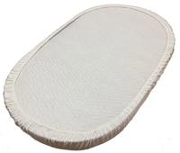 BAMBOLA Наматрасник непромакаемый на резинке Овальный Махра125*75см