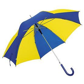 Автоматический зонт- трость DISCO & DANCE,желто-синий