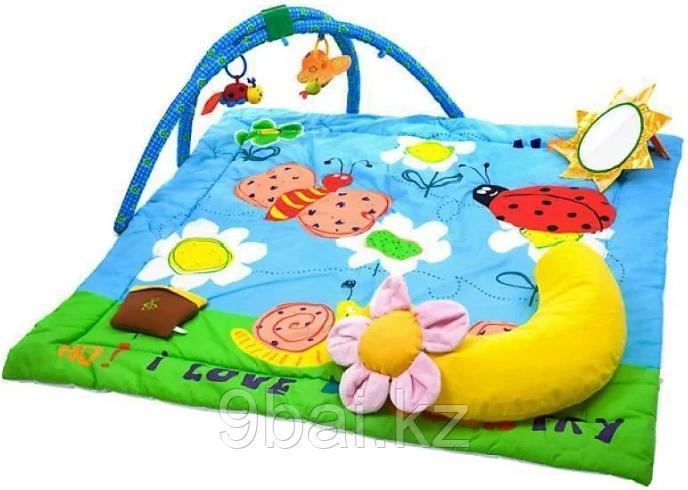 Игровой коврик Biba Toys Весёлый сад 61x58 см