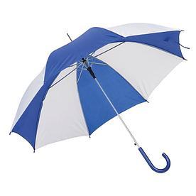 Автоматический зонт- трость DISCO & DANCE,бело-синий