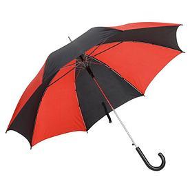 Автоматический зонт- трость DISCO & DANCE,черно-красный