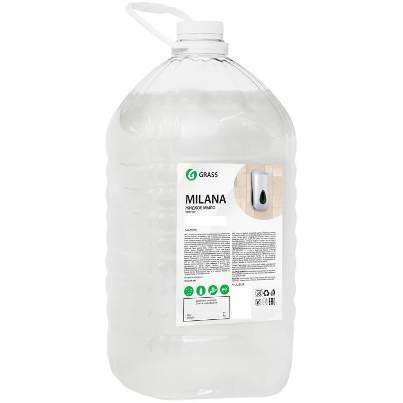 """Жидкое крем-мыло""""Milana"""", Grass"""