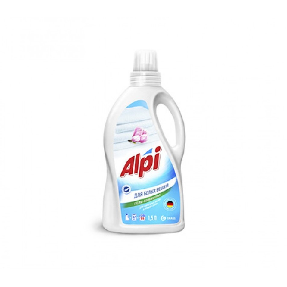 "Концентрированное жидкое средство для стирки "" Аlpi white gel"", Grass"", 1.5L"