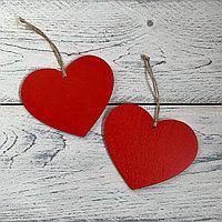 Подвеска сердечко из фанеры