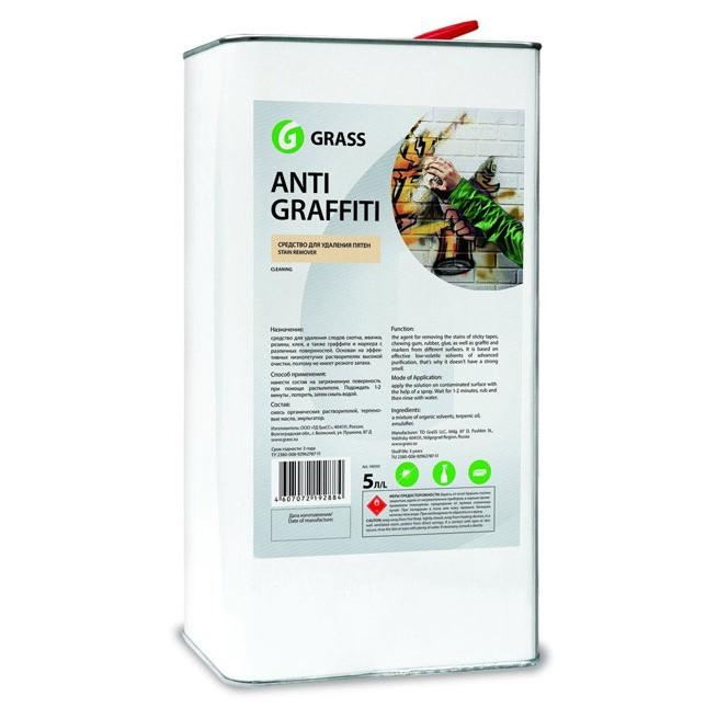 """Чистящее средство для различных поверхностей """"Antigraffiti"""", Grass, 5L"""