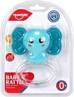 Развивающая игрушка HAUNGER погремушка-прорезыватель Слоник HE0161