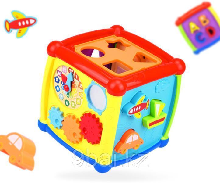 Развивающая игрушка HAUNGER Куб-сортер Fancy HE0520
