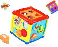 Развивающая игрушка HAUNGER Куб-сортер Fancy HE0520, фото 1