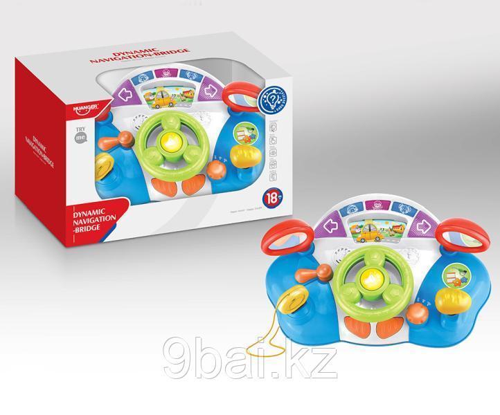 Развивающая игрушка HAUNGER HE0507 Музыкальный руль