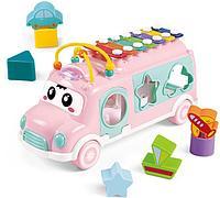Развивающая игрушка HAUNGER Автобус-ксилофон HE8019