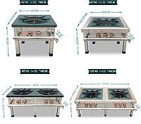 Газовая плита (1-конф - 2 крана), (1-конф - 3 крана), (2-конф - 2 крана), (2-конф - 3 крана)., фото 1