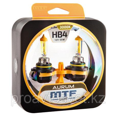 Галогенные автолампы MTF Light серия AURUM HB4(9006), 12V, 55W, комп.