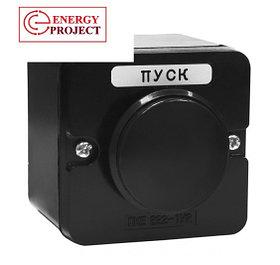 Кнопка ПКЕ 222-1 (грибок черный)