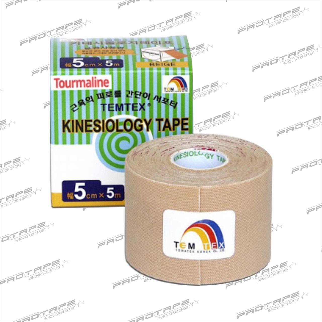 Кинезио тейп Temtex Kinesiology Tape 5см х 5м (Tourmaline)