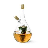Бутылочка 40/450мл для масла и уксуса 2-в-1 (стекло)