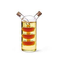 Бутылочка 70/240мл для масла и уксуса 2-в-1 (стекло)