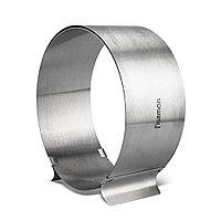 Регулируемое кулинарное кольцо 16-30 см круглое (нерж. сталь)