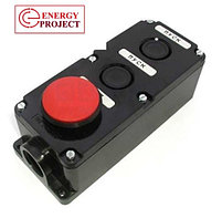 Кнопка ПКЕ 222-2 (кнопка черн. и крас.), фото 4