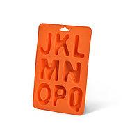 Форма для льда - буквы английского алфавита от J до Q (силикон)