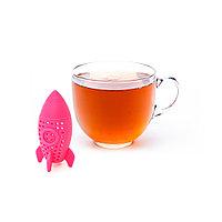 Ситечко для заваривания чая РАКЕТА (силикон) (промо-коробка)
