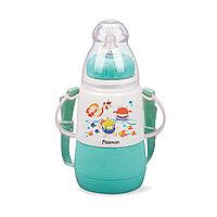 Бутылочка для кормления 150 мл МЕНТОЛОВАЯ (пластик)