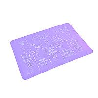 Сервировочный коврик на обеденный стол 38х28 (силикон)